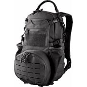 RED ROCK AMBUSH PACK BLACK W/ COLLAPSILBE MESH GEAR POCKT