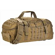RED ROCK TRAVELER DUFFLE BAG BACKPACK OR LUGGAGE COYOTE