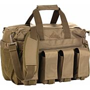RED ROCK DELUXE RANGE BAG TAN FOLD OUT WORK/CLEANING GUN MAT