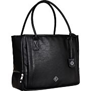 ALLEN GIRLS W/ GUNS CONCEAL CARRY PURSE TOTE BLACK