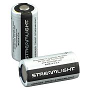 STREAMLIGHT CR123A BATTERIES LITHIUM 2-PACK