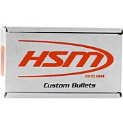 HSM BULLETS .9MM CAL. .356 125GR HARD LEAD-RN 250CT