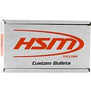 HSM BULLETS .9MM CAL. .356 147GR HARD LEAD-TC 250CT