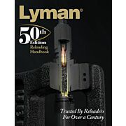 LYMAN 50TH RELOADING HANDBOOK SOFTCOVER 528 PAGES