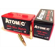 ATOMIC AMMO .308 WIN. 175GR. MATCH BTHP 50-PACK