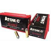 ATOMIC AMMO COWBOY .45LC 200GR. LEAD RNFP 50-PACK