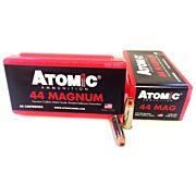 ATOMIC AMMO .44 REM. MAGNUM 240GR. MATCH BONDED HP 50-PACK