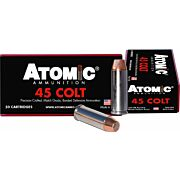 ATOMIC AMMO .45LC 250GR. BONDED MATCH HP 50-PACK