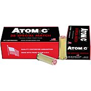 ATOMIC AMMO .38 SPECIAL MATCH 148GR. HBWC COPPER PLATE 50-PK