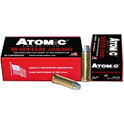 ATOMIC AMMO COWBOY .38SPL 125GR. LEAD RNFP 50-PACK