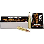 ATOMIC AMMO .308 WIN 260GR. ROUNDNOSE SOFTPOINT 20-PACK
