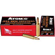 ATOMIC AMMO .223 REM. 112GR. ROUNDNOSE SOFTPOINT 20-PACK