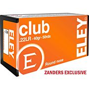 ELEY AMMO CLUB .22LR 40GR. ROUND NOSE 50-PACK