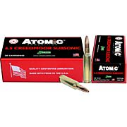 ATOMIC AMMO 6.5 CREEDMOOR SUBSONIC 130GR. HPBT 20-PK