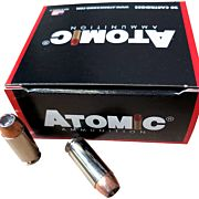 ATOMIC AMMO 10MM 155GR. BONDED JHP 20-PACK