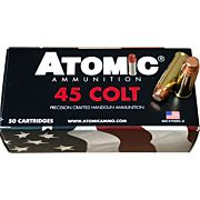 ATOMIC AMMO .45LC 250GR. TOTAL COPPER JACKET RNFP 50-PACK