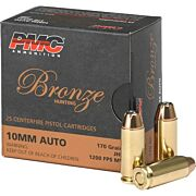 PMC AMMO 10MM AUTO 170GR. JHP 25-PACK