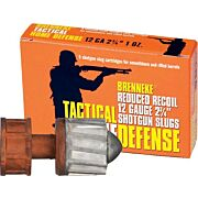 "BRENNEKE USA 12GA 2.75"" LOW RECOIL 1OZ. SLUG 5PK."