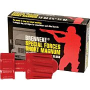 "BRENNEKE USA 12GA 2-3/4"" SPECIAL FORCES SHORT MAG 5PK."