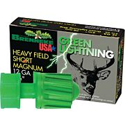 "BRENNEKE USA 12GA 2-3/4"" GREEN LIGHTNING 1-1/4OZ. SLUG 5PK."