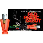 "BRENNEKE USA 12GA 3"" RED MAGIC SABOT 1OZ. SLUG 5PK"