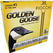 FIOCCHI GOLDEN GOOSE 12GA. 3.5 1430FPS. 1-5/8OZ. #2 25-PACK