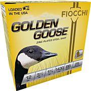 FIOCCHI GOLDEN GOOSE 12GA. 3.5 1430FPS. 1-5/8OZ. #BB 25-PACK