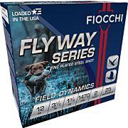 FIOCCHI FLYWAY STEEL 12GA. 3.5 1470FPS. 1-3/8OZ. #2 25-PACK