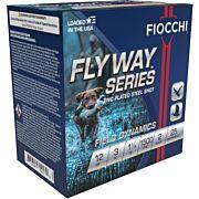 "FIOCCHI FLYWAY STEEL 12GA. 3"" 1500FPS. 1-1/8OZ. #2 25-PACK"