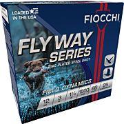 "FIOCCHI FLYWAY STEEL 12GA. 3"" 1500FPS. 1-1/8OZ. #BB 25-PACK"
