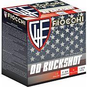 """FIOCCHI 12GA. 2.75"""" 00 BUCK 25-RD BOX"""