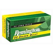 REM AMMO .22 LONG RIFLE 50-PK HIGH VELOCITY 40GR. PLATED LRN