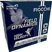 "FIOCCHI 16GA. 2.75"" 1300FPS. 1-1/8OZ. #5 25-PACK"