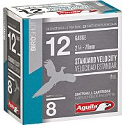 AGUILA SHOTSHELL 12GA. 1 1/8OZ #8 25PACK