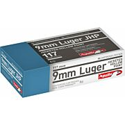 AGUILA AMMO 9MM LUGER 117GR. JHP 50-PACK