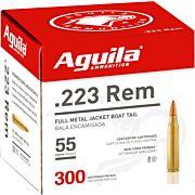 AGUILA AMMO .223REM 55GR. FMJ 300-BOX