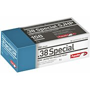 AGUILA AMMO .38 SPECIAL 158GR. SJHP 50-PACK
