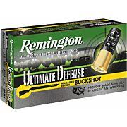 "REM AMMO ULTIMATE HOME DEFENSE R.RECOIL 12GA. 2.75"" 00BK 5-PK"