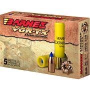 "BARNES AMMO SLUG 20GA. 2.75"" 250GR. EXPANDER TIPPED 5-PACK"