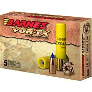 "BARNES AMMO SLUG 20GA. 3"" 250GR. EXPANDER TIPPED 5-PACK"
