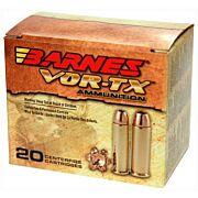 BARNES AMMO VOR-TX .44 REM MAG 225GR XPB 20-PACK