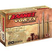 BARNES AMMO VOR-TX .22-250 REM 50GR. TSX-FB 20-PACK