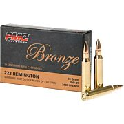 PMC AMMO .223 REMINGTON 55GR. FMJ-BT 20-PACK