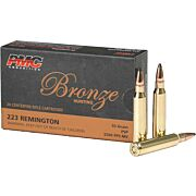 PMC AMMO .223 REMINGTON 55GR. JACKETED SOFT POINT 20-PACK