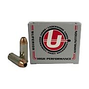 UNDERWOOD AMMO 10MM AUTO 180GR. BONDED JHP 20-PACK
