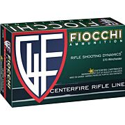 FIOCCHI AMMO .270 WIN. 130GR. PSP 20-PACK