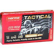 NORMA AMMO .223 REM. 55GR. FMJ 20-PACK