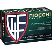 FIOCCHI AMMO .30-06 165GR. PSP 20-PACK