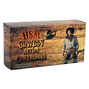 HSM COWBOY AMMO .30-30 WIN. 165GR. LEAD RNFP-HARD 20-PACK