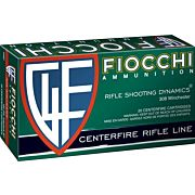 FIOCCHI AMMO .308 WIN. 165GR. PSP 20-PACK